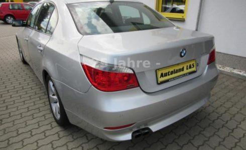 BMW Heck silber metallic