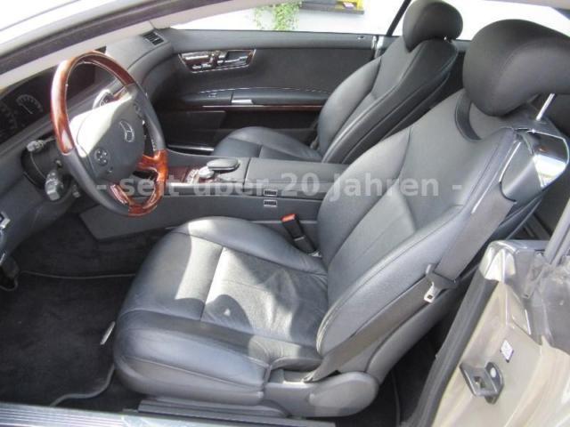 Mercedes-Benz CL 500 Innenraum