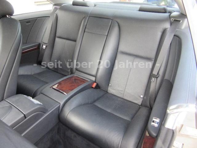 Mercedes-Benz CL 500 Ledersitze