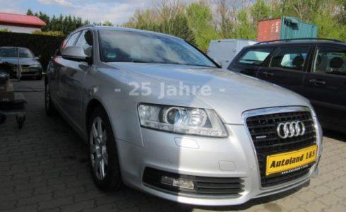 Audi A6 Avant 3.0 TDI quattro Farbe silber metallic