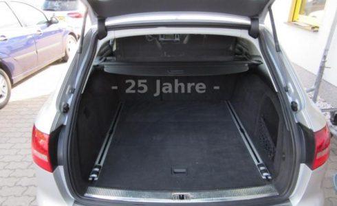 Audi-A6-3.0-TDI-Kombi-silber-Kofferraum