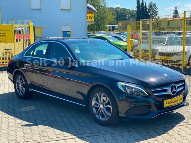 Mercedes Benz C Klasse 180 Seitlich